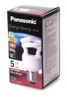 Энергосберегающая лампа Panasonic 5W (25W) 2700K E27 (EFD5E27HD3MR)