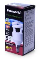 Энергосберегающая лампа Panasonic 5W (25W) 2700K E14 (EFD5E27HDE14MR)