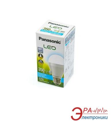 Светодиодная лампа Panasonic LED 5W (40W) 6500K 350lm E27 (LDAHV5D65H2RP)