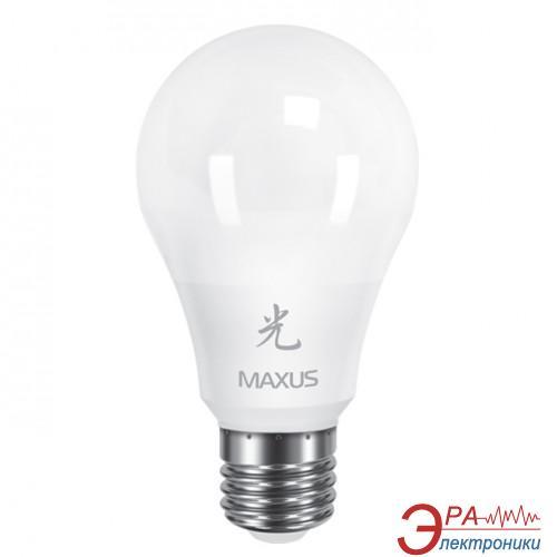 Светодиодная лампа Maxus A60 10W 3000K 220V E27 AP (1-LED-463-01)