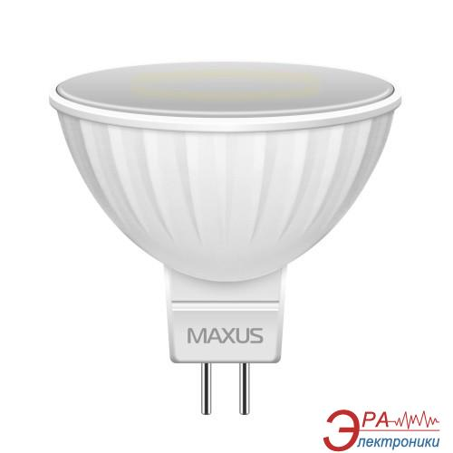 Светодиодная лампа Maxus MR16 3W 4100K 220V GU5.3 GL (1-LED-144-01)