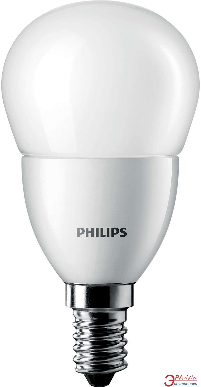 Светодиодная лампа Philips LEDluster ND E14 6-40W 827 P48 FR CorePro (929000273302)