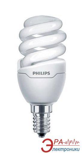 Энергосберегающая лампа Philips E14 8W 220-240V WW 1PF/6 Tornado T2 mini (929689174303)