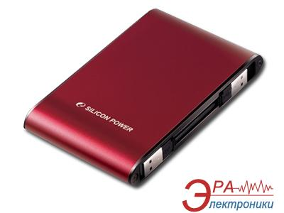 Внешний винчестер Silicon Power Armor A70 Red (SP500GBPHDA70S2R)