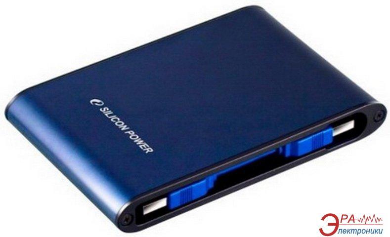 Внешний винчестер 500GB Silicon Power Armor A80 (SP500GBPHDA80S3B)