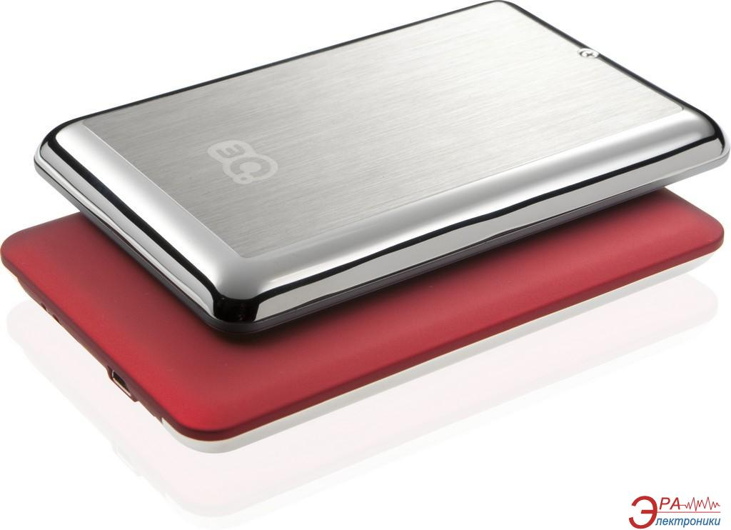 Внешний винчестер 3Q Glaze Rubber Red (3QHDD-U247H-HR500)