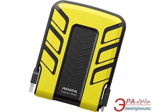 Внешний винчестер A-Data SH93 Yellow (ASH93-1TU-CYL)