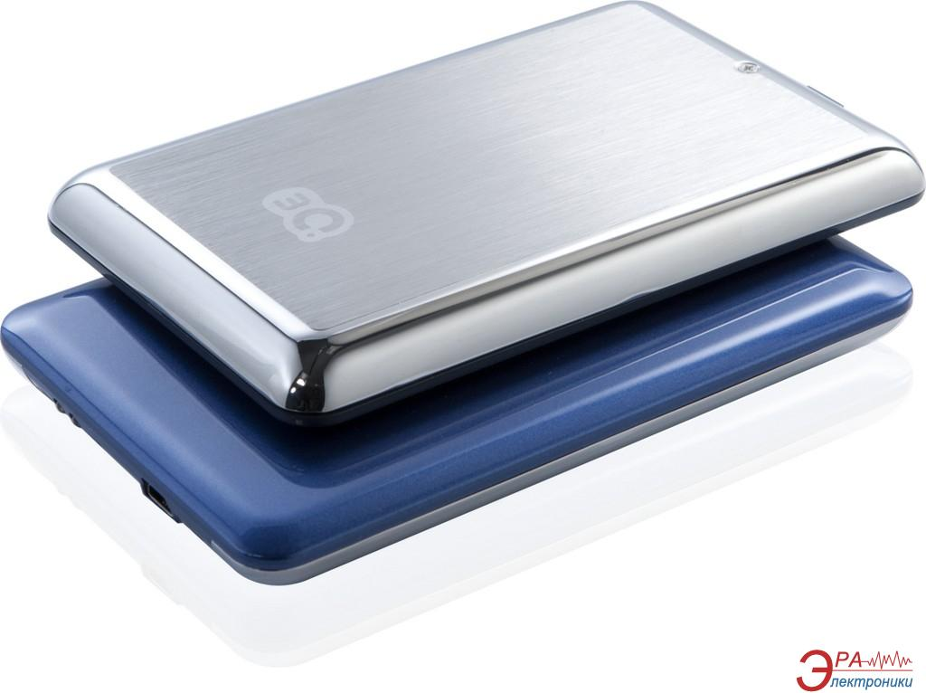 Внешний винчестер 3Q Glaze Shiny Hairline Dark Blue (3QHDD-U245H-HD320)