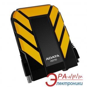 Внешний винчестер 1TB A-Data HD710 Yellow / Black (AHD710-1TU3-CYL)