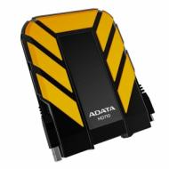 Внешний винчестер A-Data HD710 Yellow / Black (AHD710-1TU3-CYL)