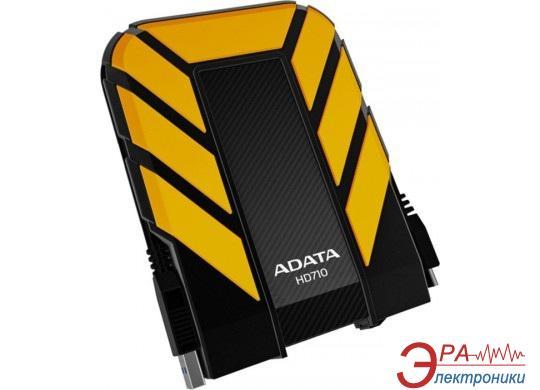 Внешний винчестер A-Data HD710 Black/Yellow (AHD710-750GU3-CYL)