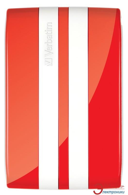 Внешний винчестер Verbatim GT Red/White (53030)