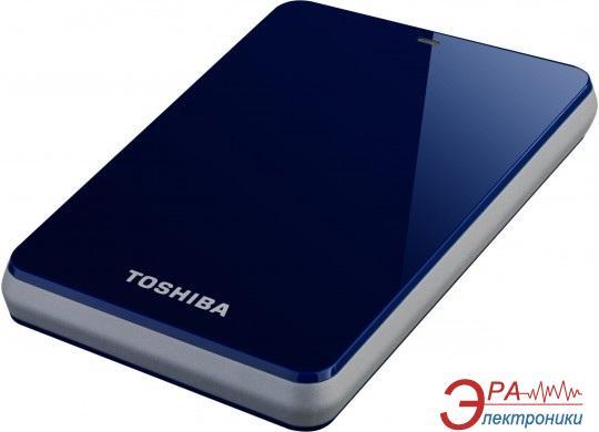 Внешний винчестер Toshiba Stor.E Canvio  Blue (HDTC610EL3B1)