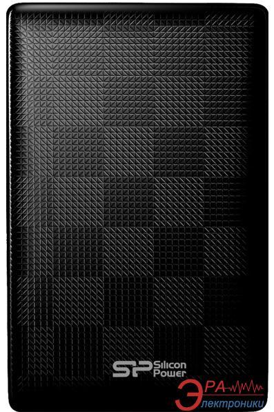 Внешний винчестер 500GB Silicon Power Diamond D03 (SP500GBPHDD03S3K)