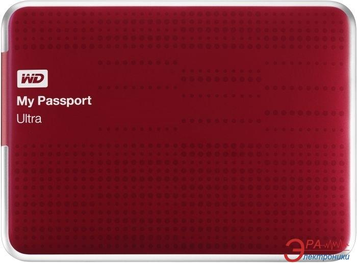 Внешний винчестер 1TB WD My Passport Ultra (WDBZFP0010BRD-EESN)