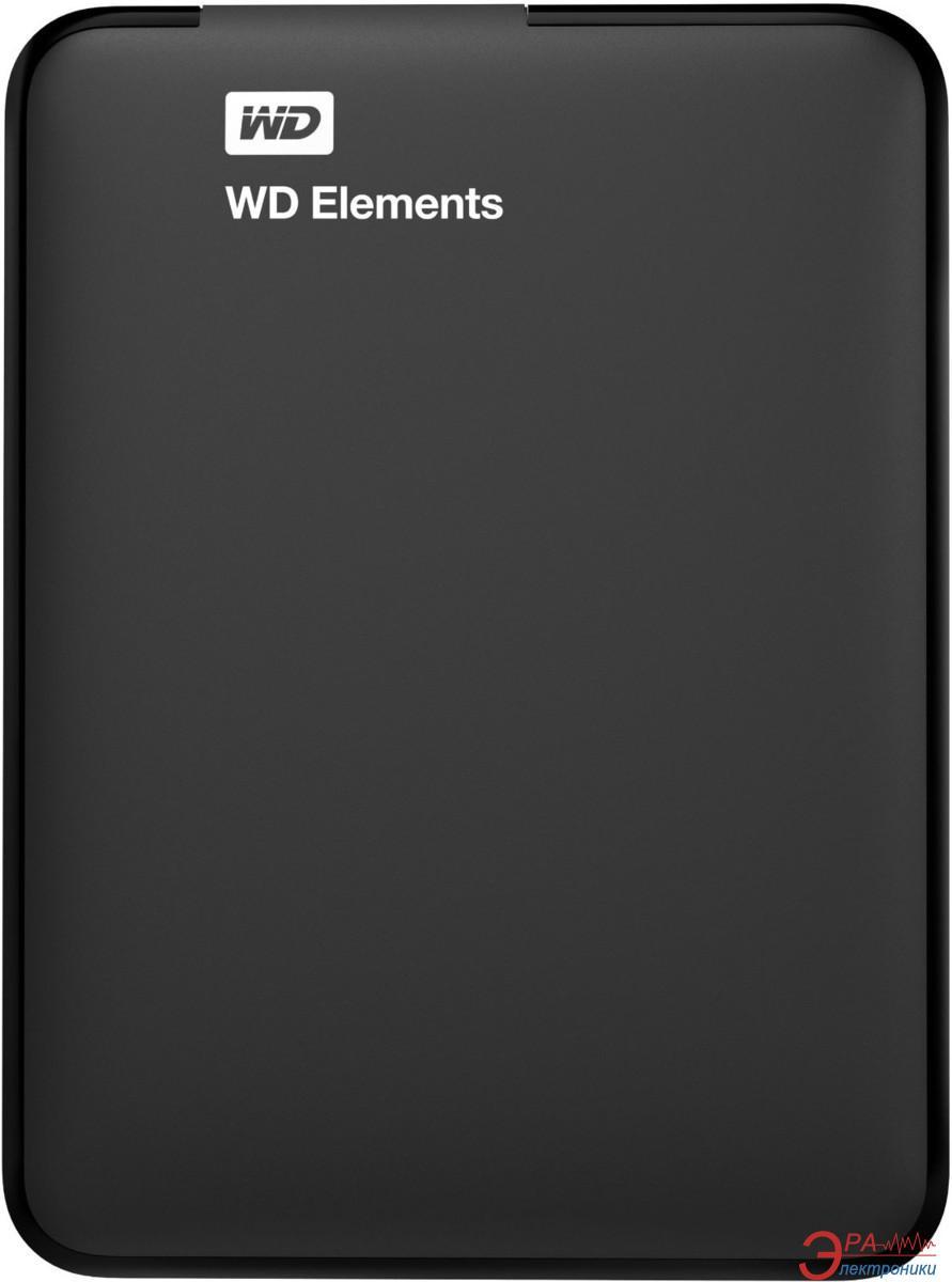 Внешний винчестер 2TB WD Elements Portable (WDBU6Y0020BBK-EESN)