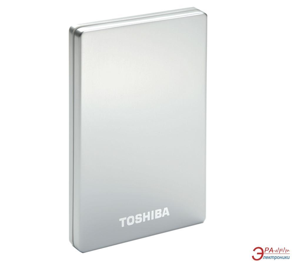 Внешний винчестер Toshiba Stor.E Slim Silver (HDTD210ES3EA)