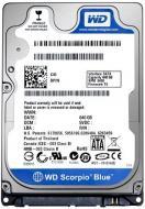 ��������� ��� �������� SATA II 250GB WD Scorpio Blue (WD2500BEVT) refurbished