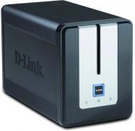 Сетевое хранилище (NAS) D-Link DNS-323 Black