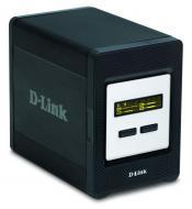 Сетевое хранилище (NAS) D-Link DNS-343 Black