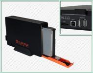 Карман для жесткого диска Welland 3,5 SATA через USB2.0/eSATA черн (ME752J) Black