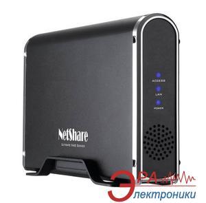 Карман для жесткого диска Welland 3,5 SATA (ME747AN-S) USB2.0/eSATA/LAN 10/100Mbit BOX Black