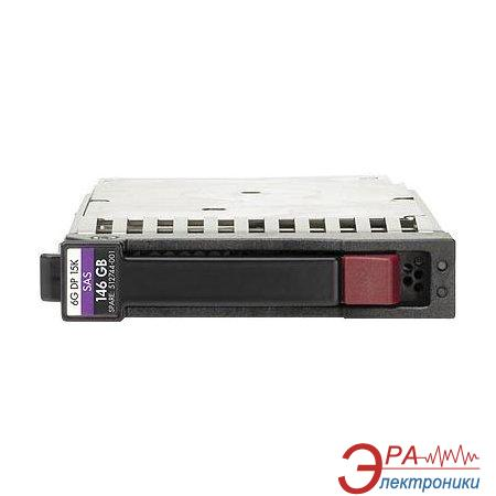 Винчестер для сервера HDD SAS HP 15K DP SFF hot-plug (512547-B21)
