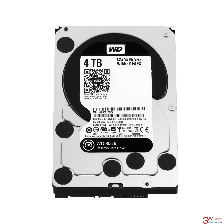 Жесткий диск 4TB WD Black (WD4003FZEX)