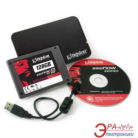 SSD накопитель 128 Гб Kingston V100 (SV100S2N/128G)