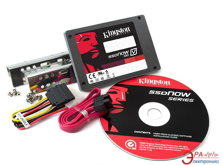 SSD накопитель 64 Гб Kingston V100 Bundle (SV100S2D/64G)