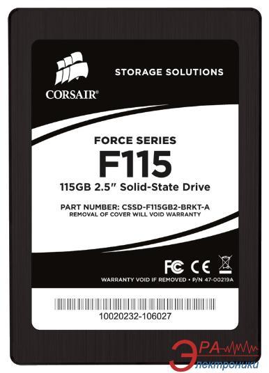 SSD накопитель 115 Гб Corsair Force Series F115 (CSSD-F115GB2-BRKT-A)