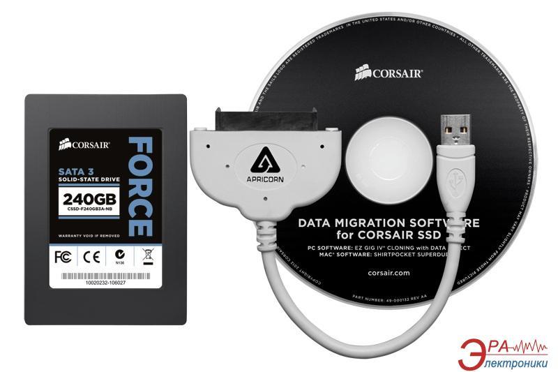 SSD накопитель 240 Гб Corsair Force 3 Series™ (CSSD-F240GB3A-NB)