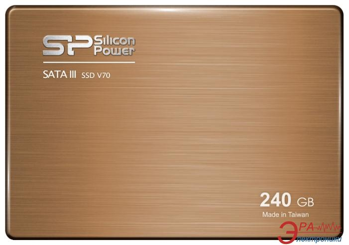 SSD накопитель 240 Гб Silicon Power V70 (SP240GBSS3V70S25)