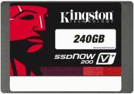SSD ���������� 240 �� Kingston V+200  + ����� (SVP200S3B7A/240G)