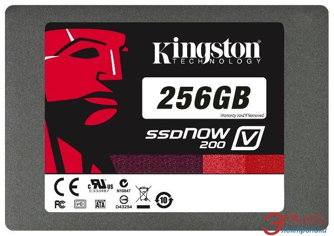 SSD накопитель 256 Гб Kingston V200  Notebook bundle (SV200S3N/256G)