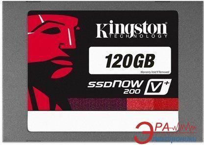 SSD накопитель 120 Гб Kingston SSDNow V+200 (SVP200S3B7A/120G)
