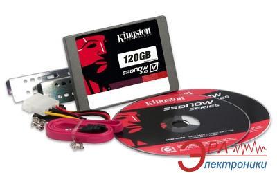 SSD накопитель 120 Гб Kingston V300 (Bundle D-p) (SV300S3D7/120G)