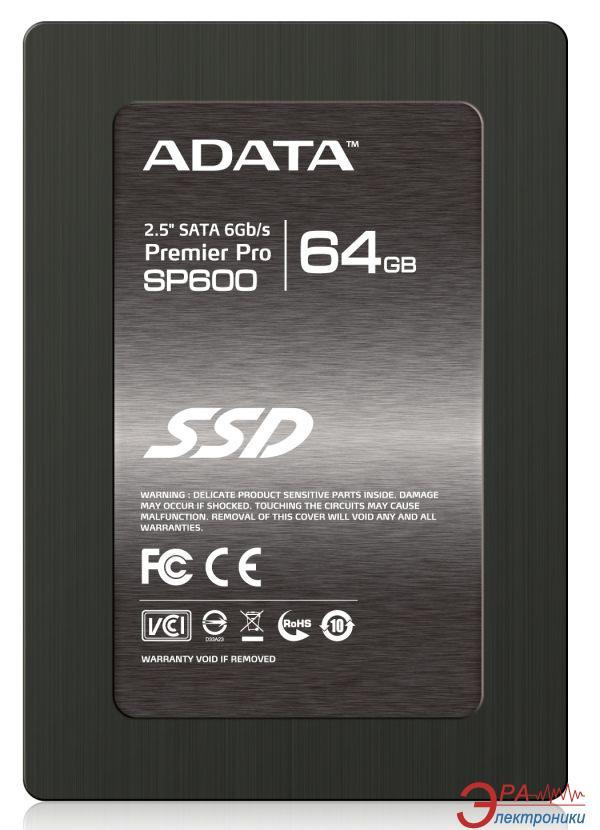 SSD накопитель 64 Гб A-Data Premier Pro SP600 (ASP600S3-64GM-C)