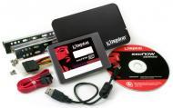 SSD накопитель 240 Гб Kingston KC300 Bundle Kit 7mm (SKC300S3B7A/240G)
