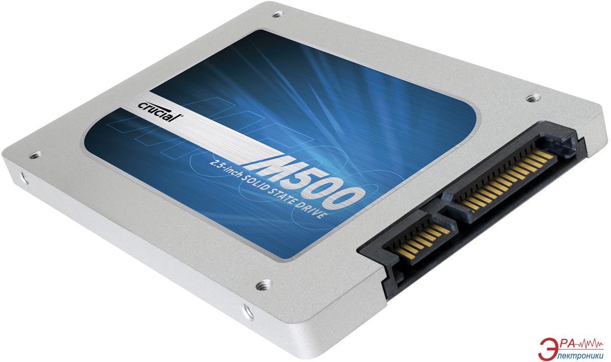 SSD накопитель 960  Гб Crucial M500 (CT960M500SSD1)