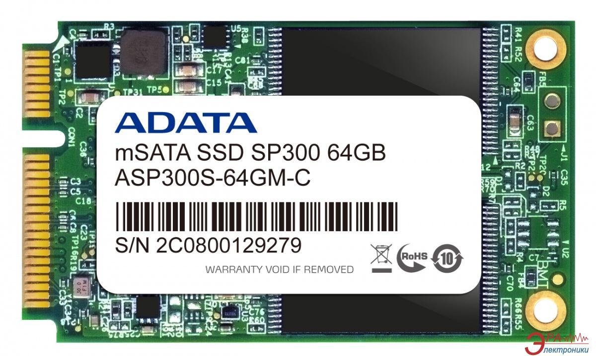 SSD накопитель 64 Гб A-Data Premier Pro SP300 (ASP300S-64GM-C)