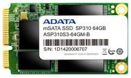 SSD накопитель 64 Гб A-Data Premier Pro SP310 (ASP310S-64GM-C)