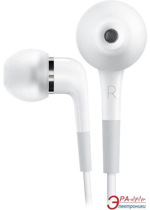 Гарнитура Apple In-Ear Headphones with Mic White (MA850G/B)