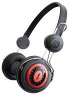 Наушники Hardity HP-310 black/red