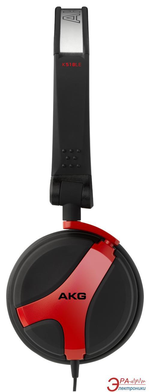 Наушники AKG K 518 LE Red (K518LERED)