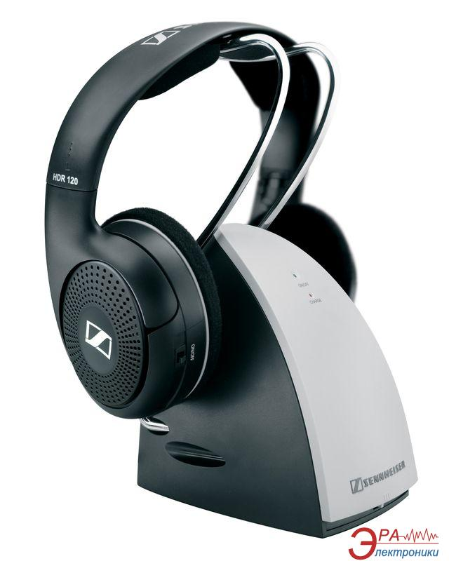 Наушники Sennheiser RS 120 II Wireless black/silver