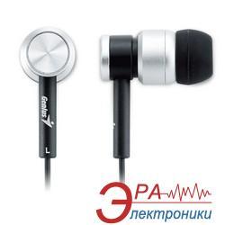 Наушники Genius GHP-02 alum black/silver (31710130100)