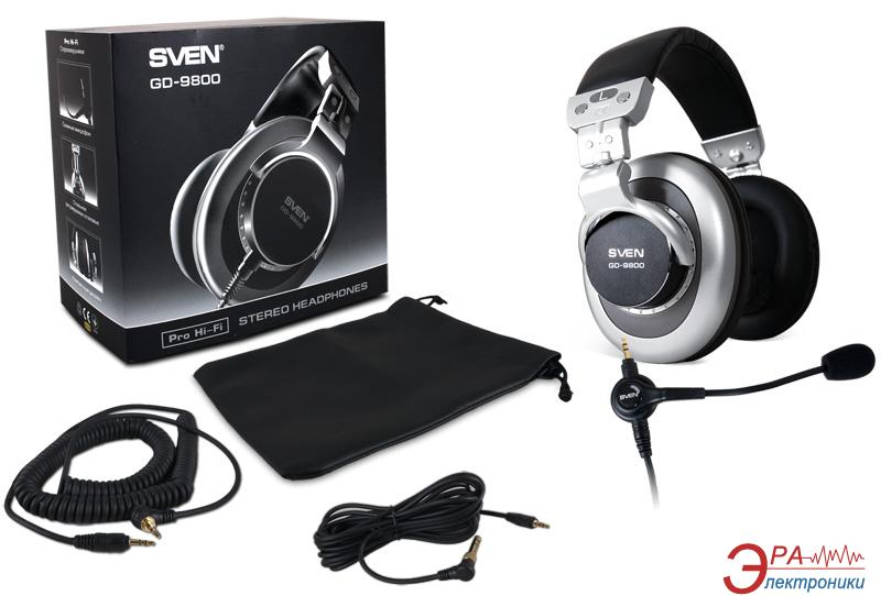 Гарнитура Sven GD-9800 silver