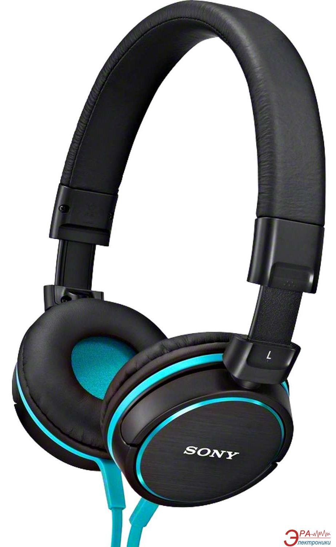 Наушники Sony MDR-ZX600 Black/Blue (MDRZX600L.AE)