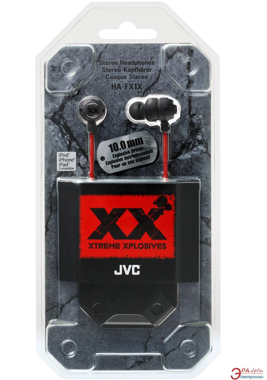 Наушники JVC Xplosives HA-FX1X (HA-FX1X-E)